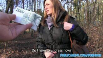 Evli Kadının Aklını Parayla Çelip Ormanın İçinde Sikiyor