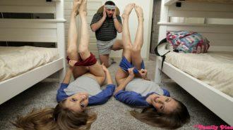 İzci Kızlar Oymak Başına Siktirmek İçin Adeta Can Atıyor